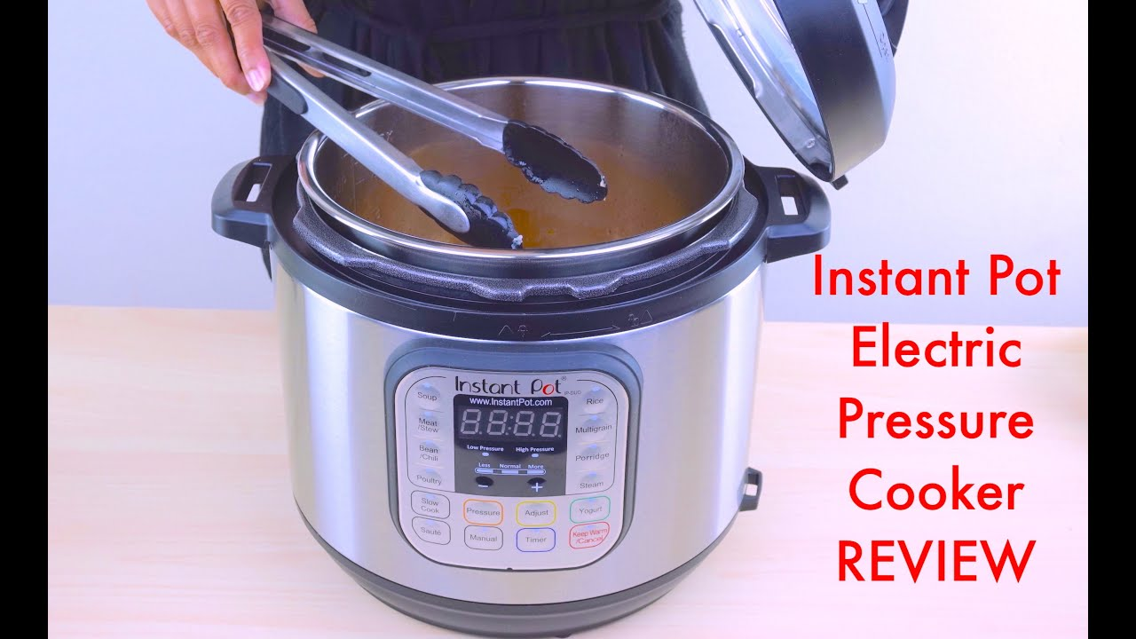 video Instant Pot IP Pressure Cooker Full Review And Promotion ?