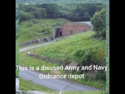 A Disused Army & Navy Explosive Ordnance Depot In Medway