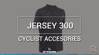 MAILLOT CYCLISME BTWIN