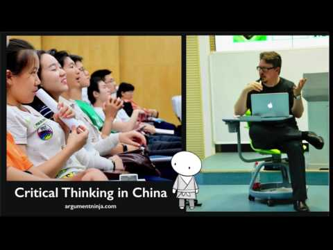 020 - Critical Thinking in China