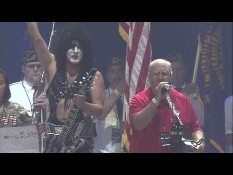 KISS Salute our Veterans & Military 8 6 16 La Crosse , WI