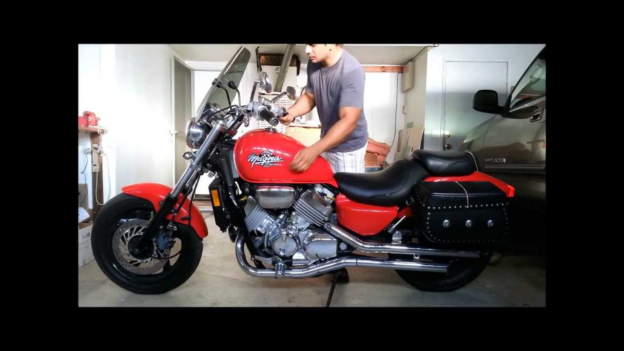 1994 Honda Magna VF750C 750 - My Mini Review - YouTube
