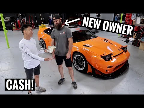 MAKING AN OFFER ON HIS OLD 240SX...
