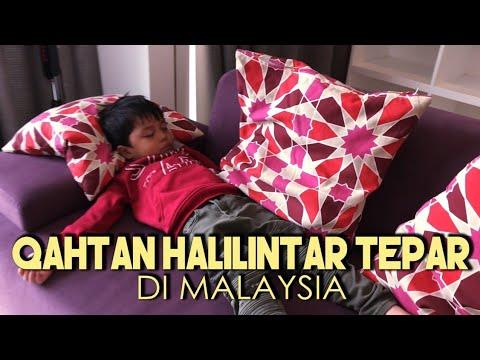 Qahtan Halilintar Tepar di Malaysia