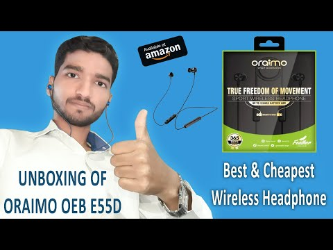 68a59ff5bc8 Oraimo Wireless Bluetooth Headset || Oraimo OEB E55D 🔥🔥 - YouTube
