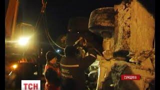 Дванадцять годин поспіль був заблокований рух транспорту на автошляху Київ-Суми