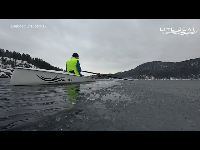 LiteSport 1X Winter Rowing - Oslo fjord Norway
