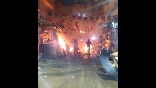 بالفيديو.. تفاصيل تفجير مسجد الحسين بلبنان