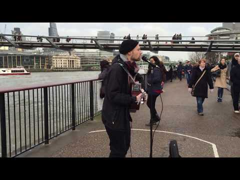 Jimmy Ruffin, What Becomes Of The Broken Hearted - busking in the Streets of London, UK