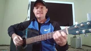 Кавер. Песни под гитару. А на улице мороз.(группа ДМЦ)