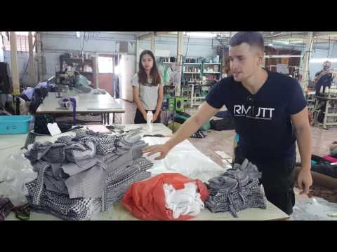 interview textile business