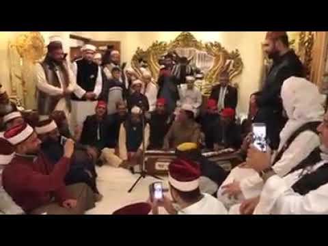 Mehfil-E-Samah held in the house of Shaykh Sayyed Hashim Al-Gaylani in Baghdad, Iraq.