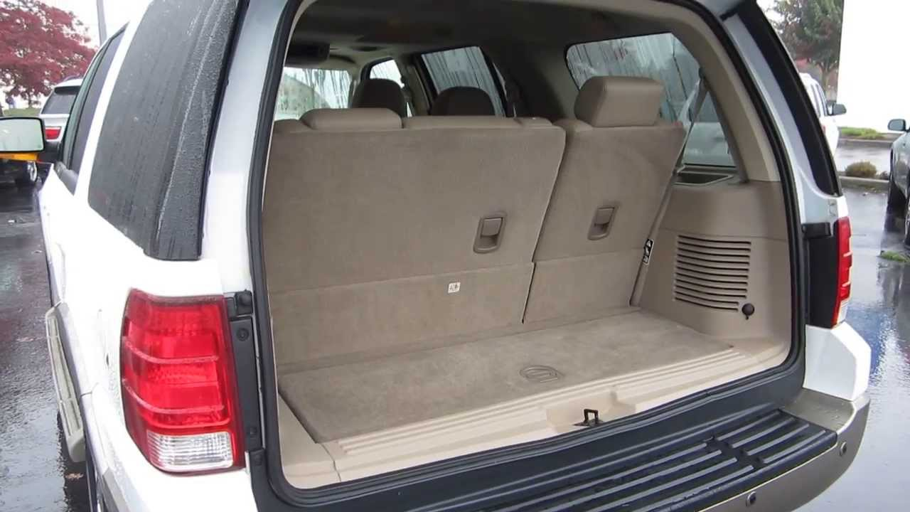2004 Ford Expedition White Stock 131738c Interior Youtube