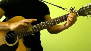 We Found Love - Rihanna ft Calvin Harris - Easy Guitar Tutorial (No Capo)