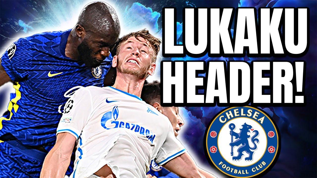 Romelu Lukaku SAVES Chelsea! Chelsea 1-0 FC Zenit - Champions League