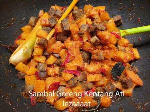 Sambal Goreng Kentang Ati | lestariweb.com