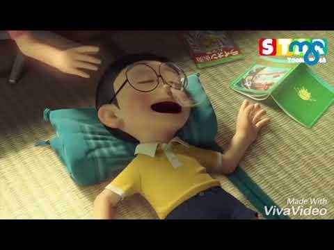 """""""Sanu ek pal chain na aave"""" Nobita shizuka love song"""
