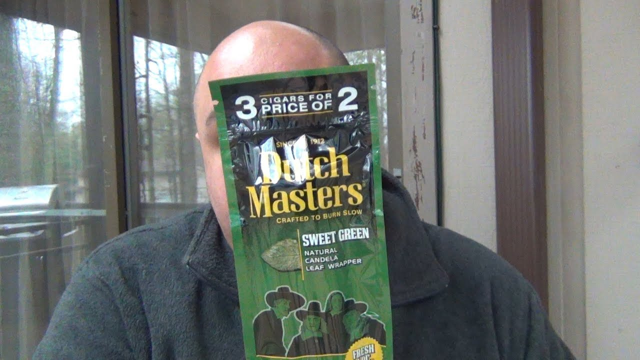 Gas Station Cigars Dutch Masters Sweet Green Youtube