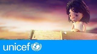 CNN Arabic - بالفيديو.. يونيسيف تسلط الضوء على رحلة ملَك الطفلة السورية الهاربة من بلدها الذي مزقته الحرب