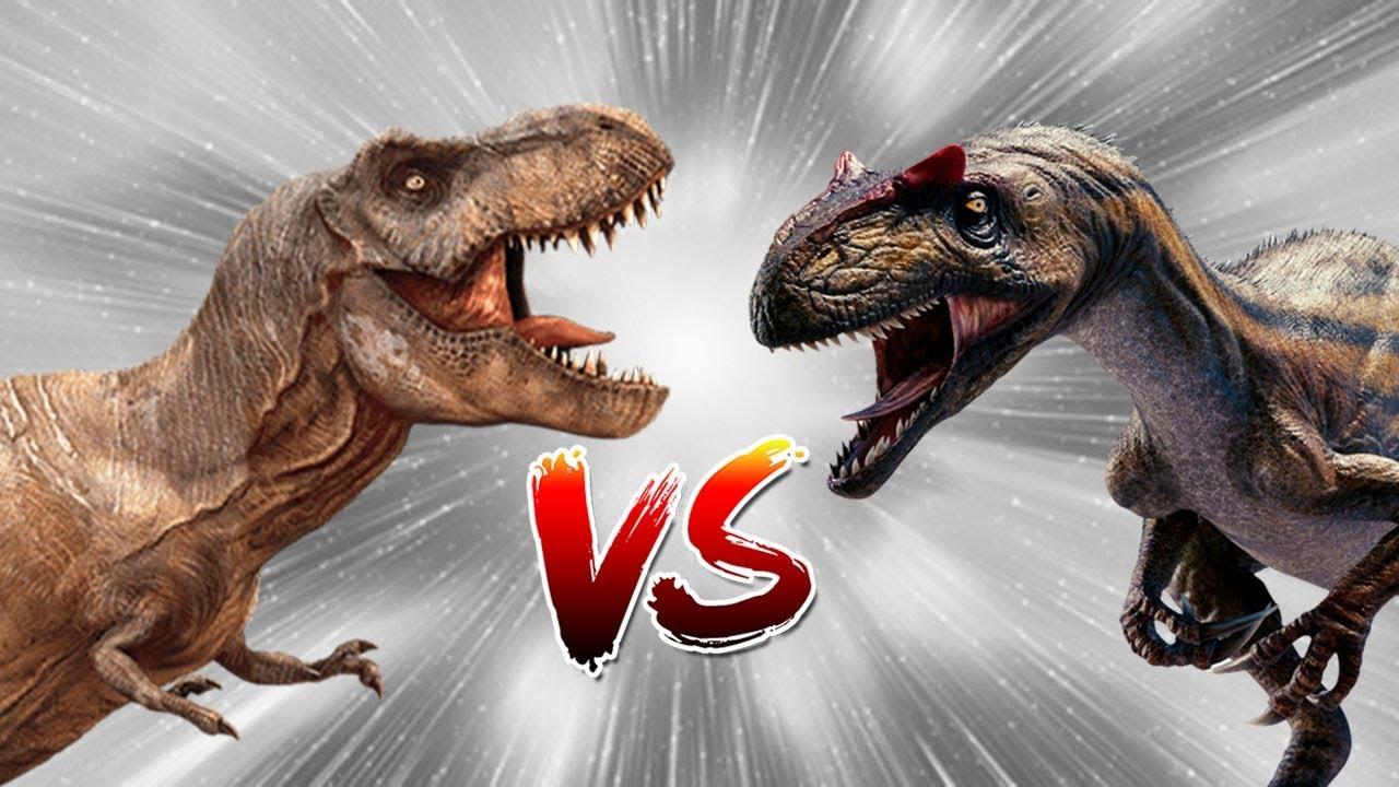 Dinosaur Battle 2018 Allosaurus vs Tyrannosaurus Rex (T ...