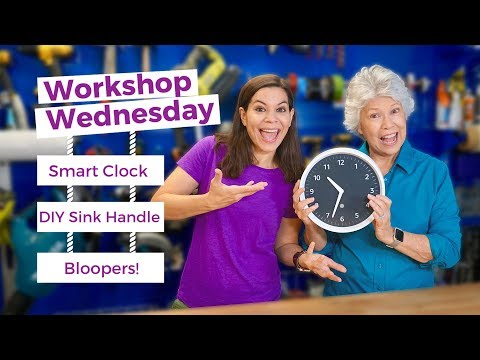Smart Home Wall Clock // Workshop Wednesday Show