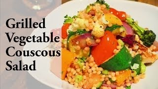 Grilled Vegetable Couscous Salad | グリル野菜のクスクスサラダ