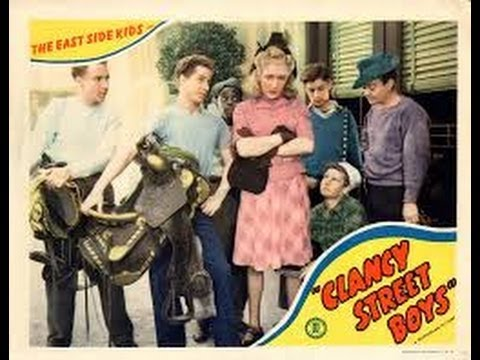Watch Movies Free : Clancy Street Boys (1943) Comedy Drama starring East Side Kids