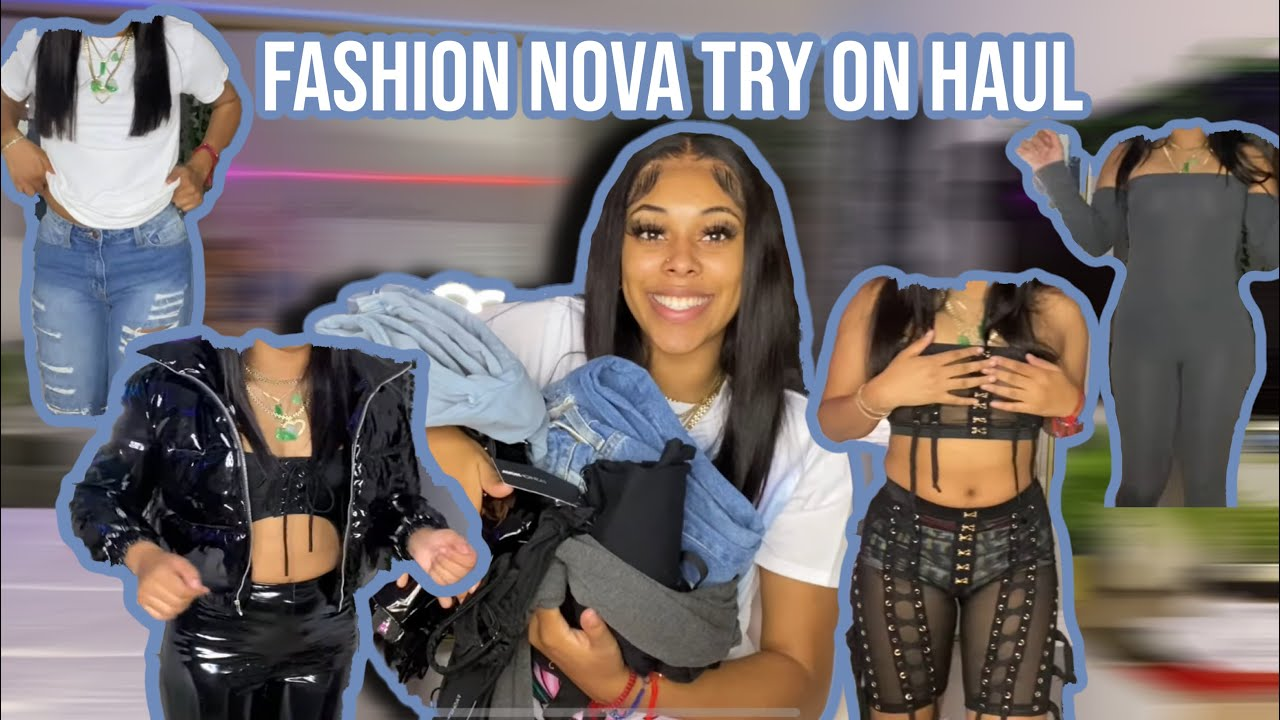 Download FASHION NOVA FALL TRY ON HAUL! GRAPHIC TEES, JEANS, SWEATS, JUMPSUITS, CORSETS +MORE | Golden.toned