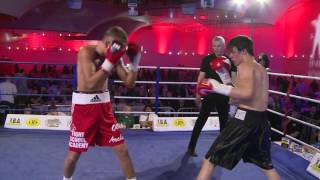 IBA Boxing - Ronnie Chisholm v Albie Warner -  Part 1 Rounds 1-5