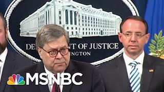 Attorney General Barr Decided His Legacy, 'Took One' For President Donald Trump Team | MSNBC