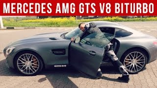 MERCEDES AMG GTS V8 BITURBO | VOL GAS MET JOEY