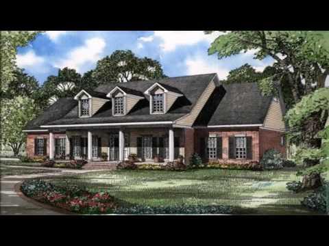 Cape Cod Ranch Style House Plans