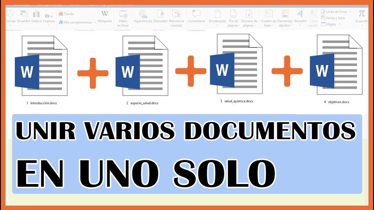 Word: Como unir varios documentos de Word en uno solo