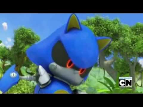 What if, Metal Sonic can talk, in Sonic Boom