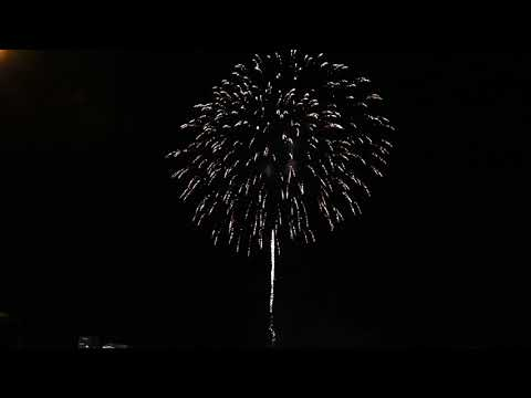 2018 Australia Day Fireworks in Bunbury