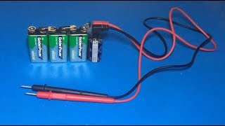 How to make mini spot welding using 9V batteries and capacitor