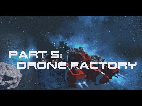 Space Engineers | First Jump Campaign | Mission 5 - The Drone Factory