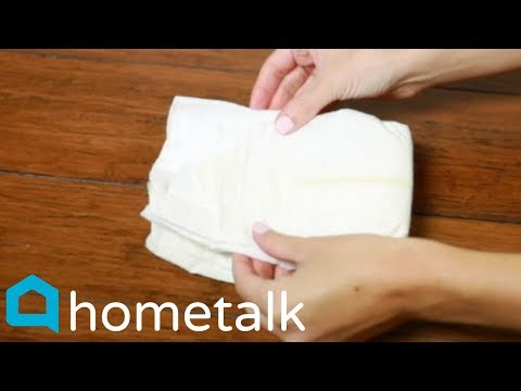 Stack 165 Diapers For This Adorable Baby Shower Gift Idea! | Hometalk