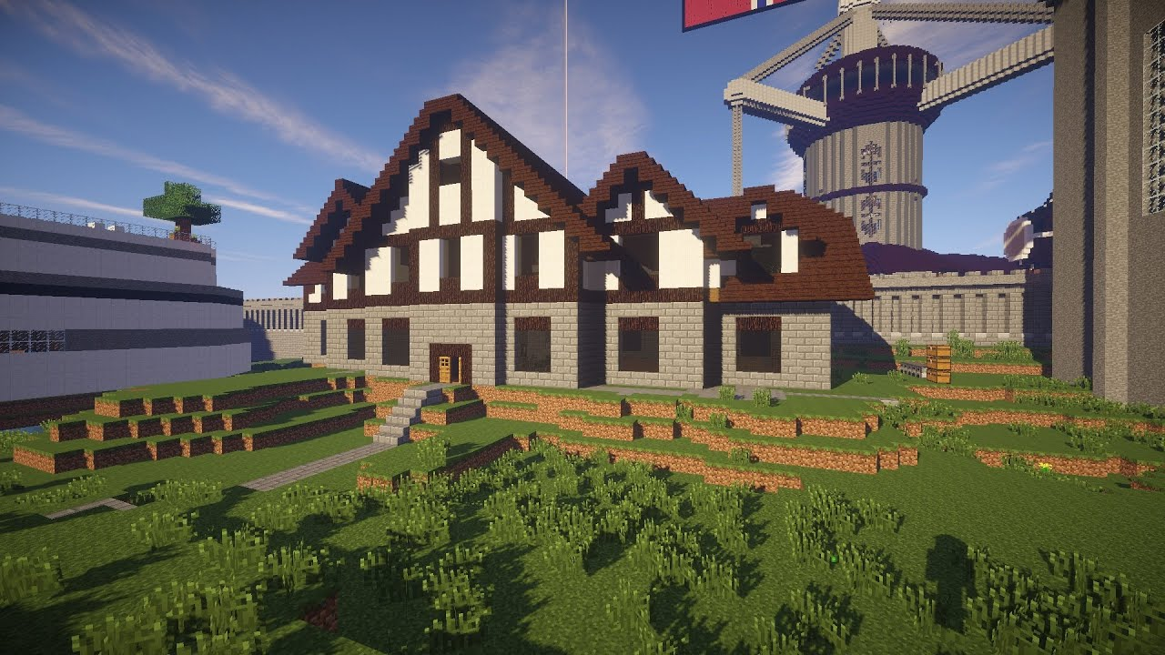 how to build a house in second life tutorial