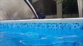 видео Копинговый камень из бетона для бассейнов