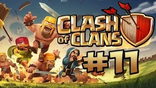 CLASH OF CLANS #11 - NOOB BAUT BASE ★ Let's Play Clash of Clans