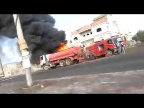 Explosion rocks Almansora district in Aden city #Yemen war 2015 #Saudi