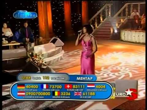 Bergen Şarkısıyla Mehtap  Yılmaz Popstar Alaturka EuraStar Tv