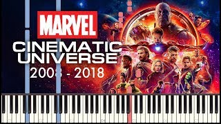 Download lagu Marvel Studios Piano Medley (2008 - 2018) + SHEETS/SYNTHESIA
