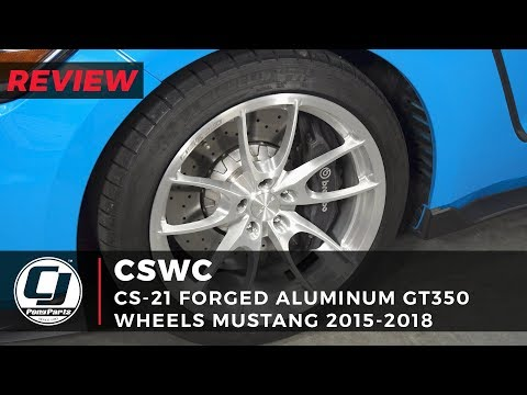 """GT/GTR CS- Forged """" Wheel Review: Carroll Shelby Wheel Co Brushed Aluminum/Gloss Clear"""