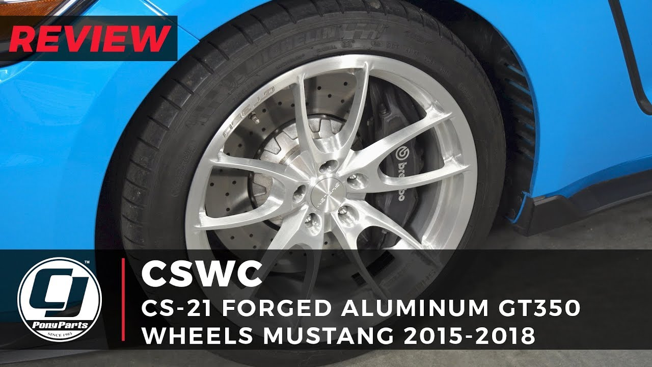 """2015 Mustang Parts >> GT350/GT350R CS-21 Forged 19"""" Wheel Review: Carroll Shelby ..."""