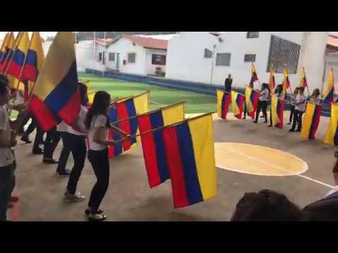 Proclamacio?n de abanderados, Colegio Saint Patrick School, Quito, Ecuador    26 09 2019