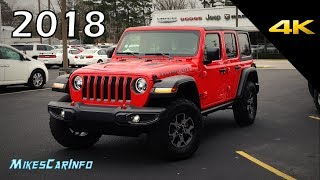 2018 Jeep Wrangler JL Unlimited Rubicon - Ultimate In-Depth Look in 4K