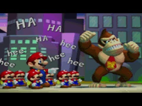 Mario Vs. Donkey Kong - World 6 + Final Boss & Ending (100%)