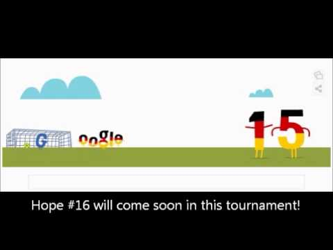 Miroslav Klose somersault Google Doodle Germany vs Ghana (2:2)